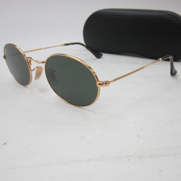 ed84ab839b RayBan RB 3547-N 001 OVAL FLAT Sunglasses  OLI801.  M 5b90327b3c9844002f17e77f